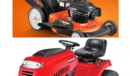 LAWNMOWER AND YARD EQUIPMENT
